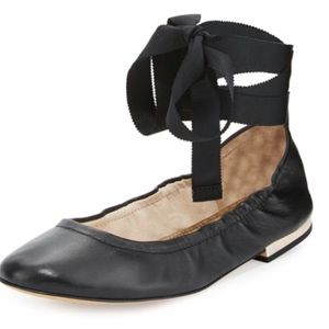 [Sam Edelman] Lace Up Ballet Slippers